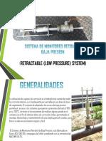 Retractable (Low Pressure) System_ Sistema de Monitoreo Baja Presion