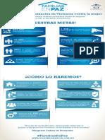 """Infografía del proyecto """"Familias en Paz"""""""