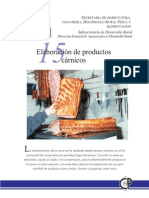 Elaboración de productos cárnicos