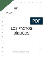 PACTOS BIBLICOS