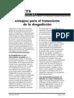 Enfoques de Tratamiento Para La Drogadiccion