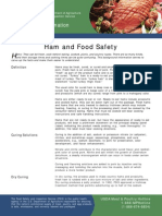 Ham and Food Safety