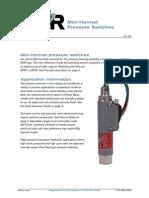 Mini Hermet Pressure Switches