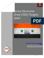 US Army Doc on Syrian Electronic Army