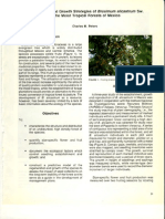 E10 Regeneration and Growth Strategies of Brosimum Alicastrum in Moist Tropical Forests of Mexico_Peters, C_M
