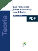 HALLIDAY, Fred, Las Relaciones Internacionales y Sus Debates