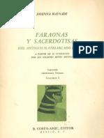 Maynadé, Josefina - Faraonas y Sacerdotisas