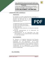 Especificaciones Tecnicas Calala Axura