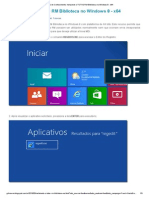 Instalando o TOTVS RM Biblioteca No Windows 8 - x64
