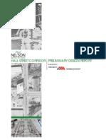 Hall Street Corridor - Preliminary Design Report