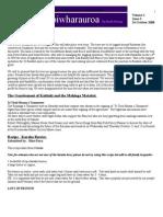 Pipiwharauroa, Te Rawhiti Newsletter, Volume 1 Issue 3