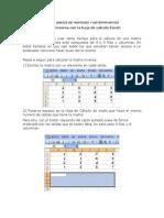 Exel Matrices y Determinantes