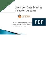 Aplicaciones Del Datamining en El Sector de Salud