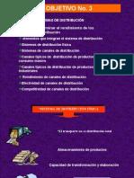 obj. No. 3 S. Distribución