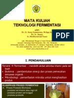 Teknologi Fermentasi Bab 1