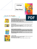 Catalogo Del Autor Pepe Pelayo 2009-1