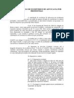 A Contratação de Escritórios de Advocacia por Prefeituras