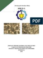 Uji Metalografi AISI O-1