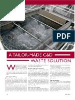 Derwen Construction Case Study C&D Waste Recycling