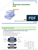 Bulk Deformation Processes-Forging
