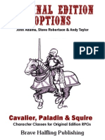 OEO2 - Cavalier Paladin & Squire