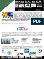 Satp Industrias s.a. de c.v. Presentacion 2013 (2)