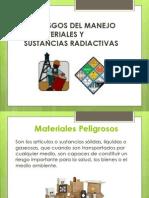 4.5 Riesgos Del Manejo de Materiales y Sustancias Radiactivas