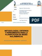 METODOLOGÍAS, CRITERIOS Y HERRAMIENTAS-REDES INALÁMBRICAS