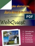 Webquest_Energias alternativas