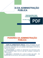 Poderes Da Administracao Publica