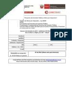Ficha de Inscipción - Seminario