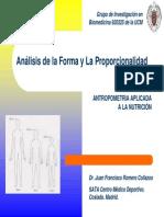 Análisis de la Forma y La Proporcionalidad