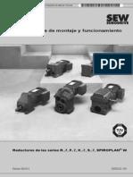 Manual Del Motor Electrico Con Reductor