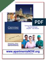 Greystar San Antonio Info Packet 8-22-13