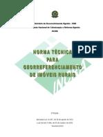 Norma Tecnica Georreferenciamento