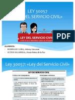 LEY 30057- Ley Del Servicio Civil