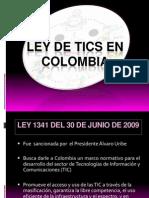 4. Ley de Tics en Colombia