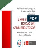 Movilizacion Nacional Cambiemos La Educacion Cambiemos Todos[1]