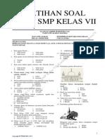 Latihan Soal UAS PPKN Kelas VII Kurikulum 2013 by Iwansukma78