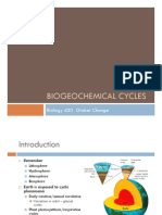Tina Salmassi - Lecture - Biogeochemical Cycles
