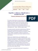 1999 12 31-Espírito e cultura_ o Brasil ante o sentido da vida