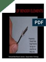 Bender Elements Manual