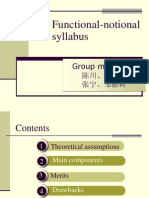 Functional-notional Syllabus 4