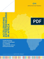 Omidyar Network (2013)...Accelarting Entrepreneurship in Africa