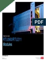 ABB RTU560 and Modules
