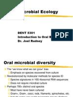1 Oral Ecology DENT5301