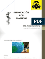 Intoxicación por plásticos