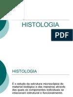 Tecido Epitelial histologia