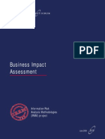 IRAM- Business Impact Assessment