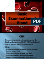 4. Basic Examination of Blood (4)